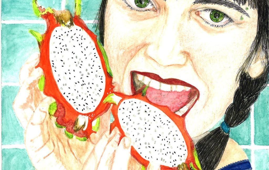 Auto-portrait fruit